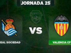 Alineaciones Real Sociedad - Valencia