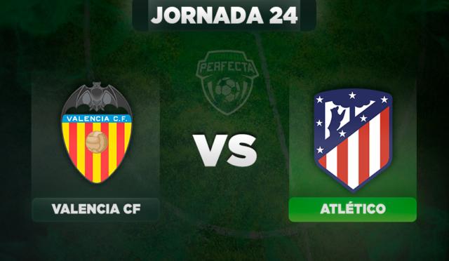 Alineaciones Valencia - Atlético