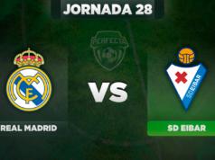 Alineaciones Real Madrid - Eibar