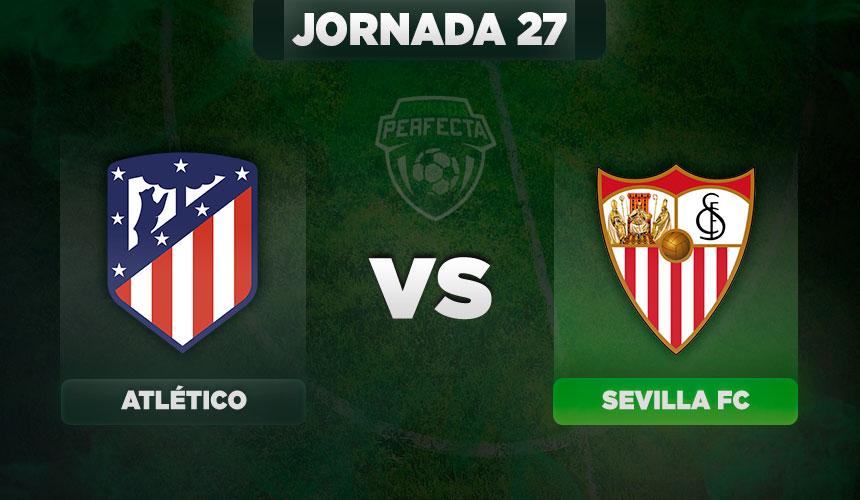 Alineaciones Atlético - Sevilla