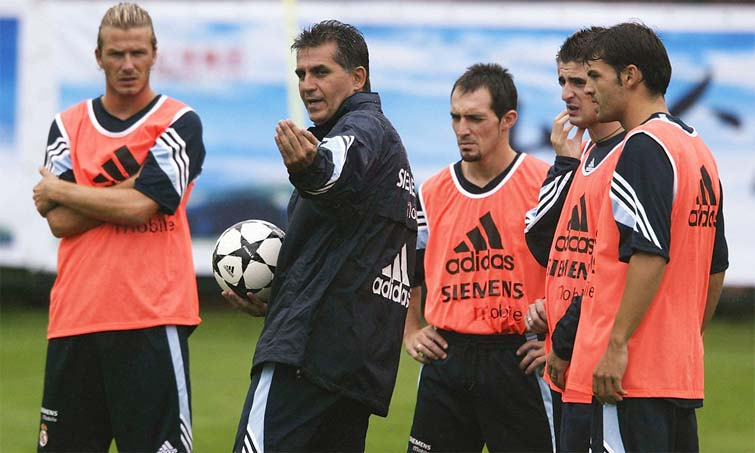 Carlos Queiroz Real Madrid