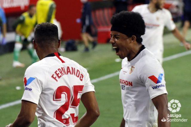 Koundé y Fernando