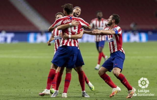 Costa celebra un gol