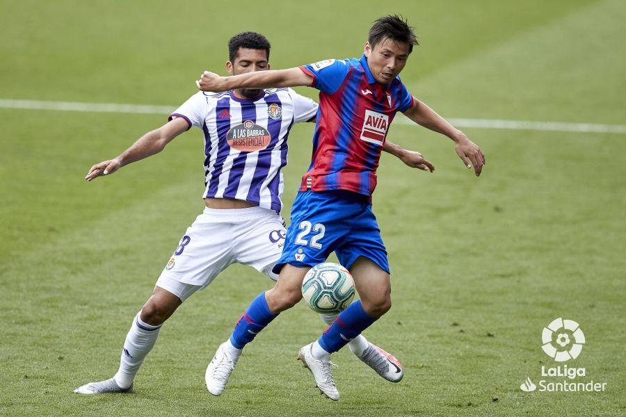 Inui, contra el Valladolid