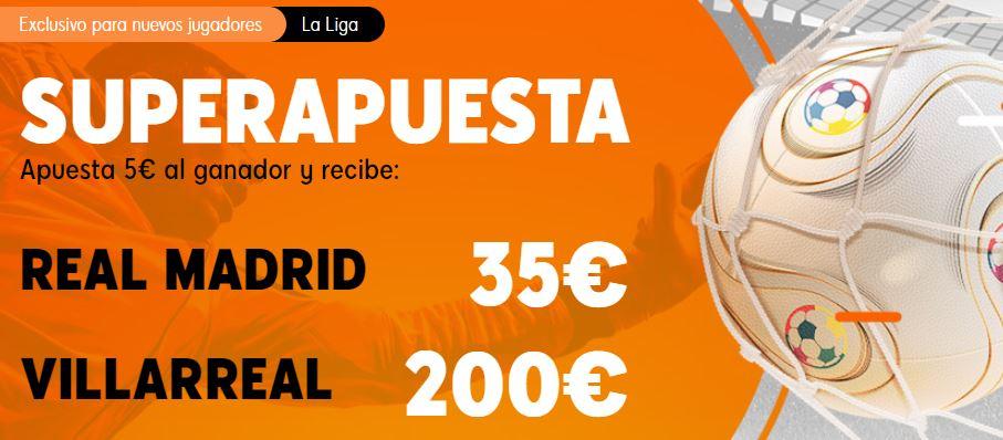 superapuesta 888sport del madrid - villarreal