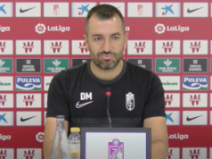 Diego Martínez comparece ante los medios