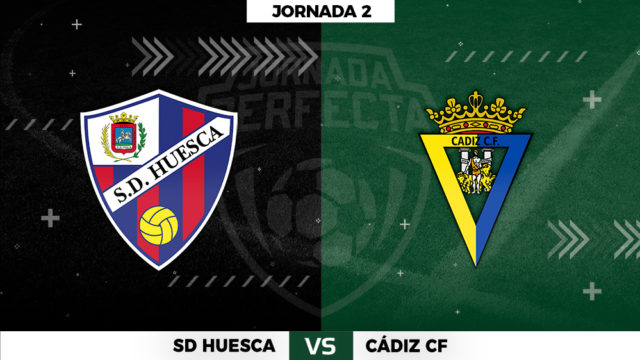 Huesca - Cádiz - Jornada 2