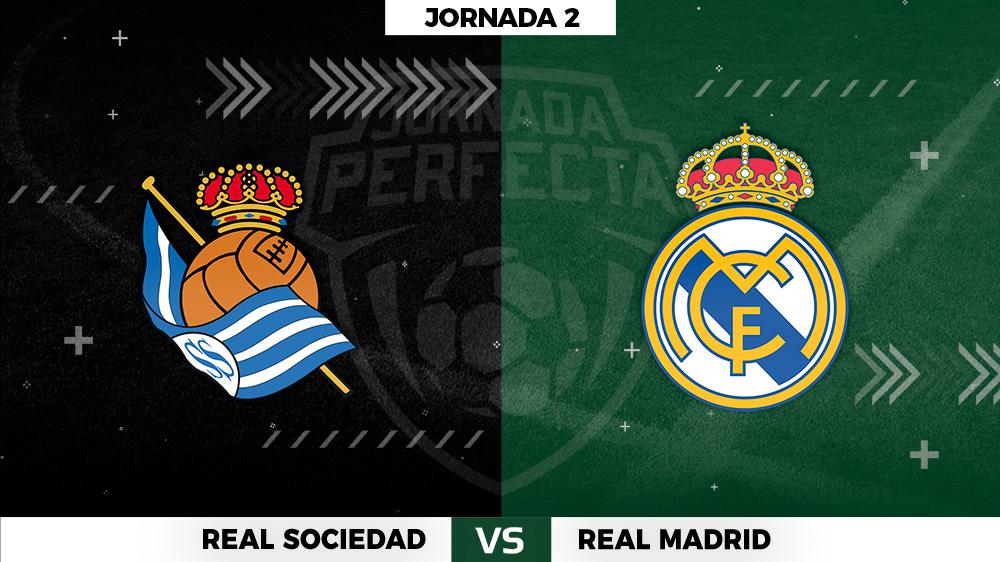 Real Sociedad - Real Madrid - Jornada 2