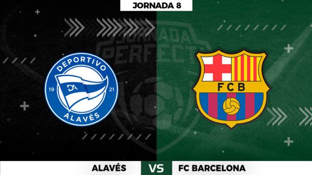 Alineaciones Alavés - Barça