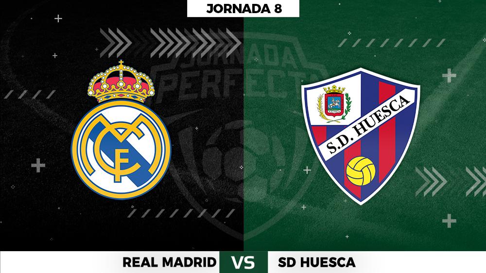 Alineaciones Real Madrid - Huesca