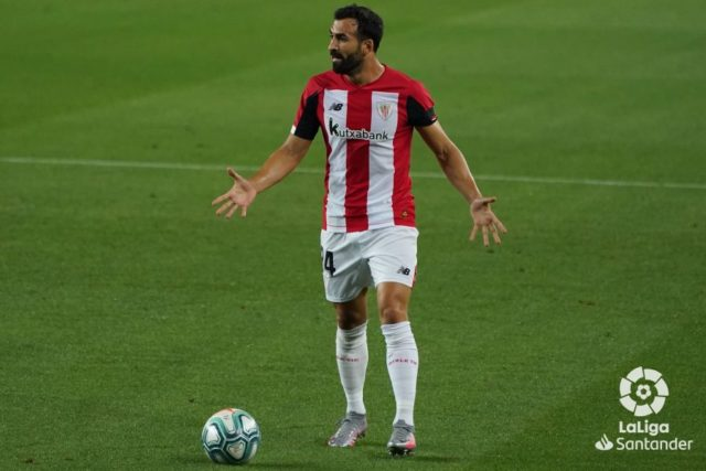 Balenziaga durante un partido del Athletic Club