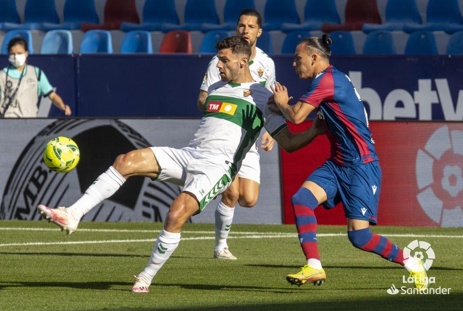 Boyé durante el partido contra el Levante