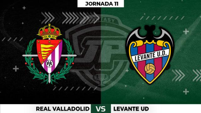 Alineaciones Valladolid - Levante Jornada 11