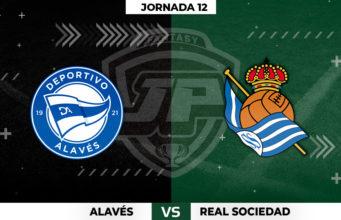 Alineaciones Alavés - Real Sociedad Jornada 12