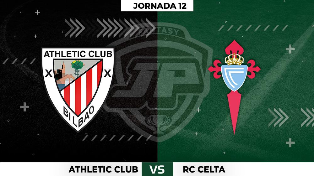 Alineaciones Athletic - Celta Jornada 12