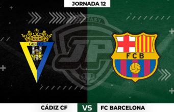 Alineaciones Cádiz - Barcelona Jornada 12