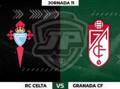 Alineaciones Celta - Granada Jornada 11