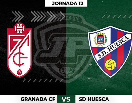 Alineaciones Granada - Huesca Jornada 12
