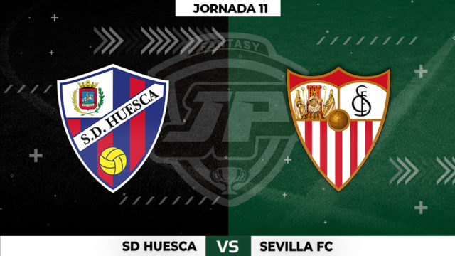 Alineaciones Huesca - Sevilla Jornada 11