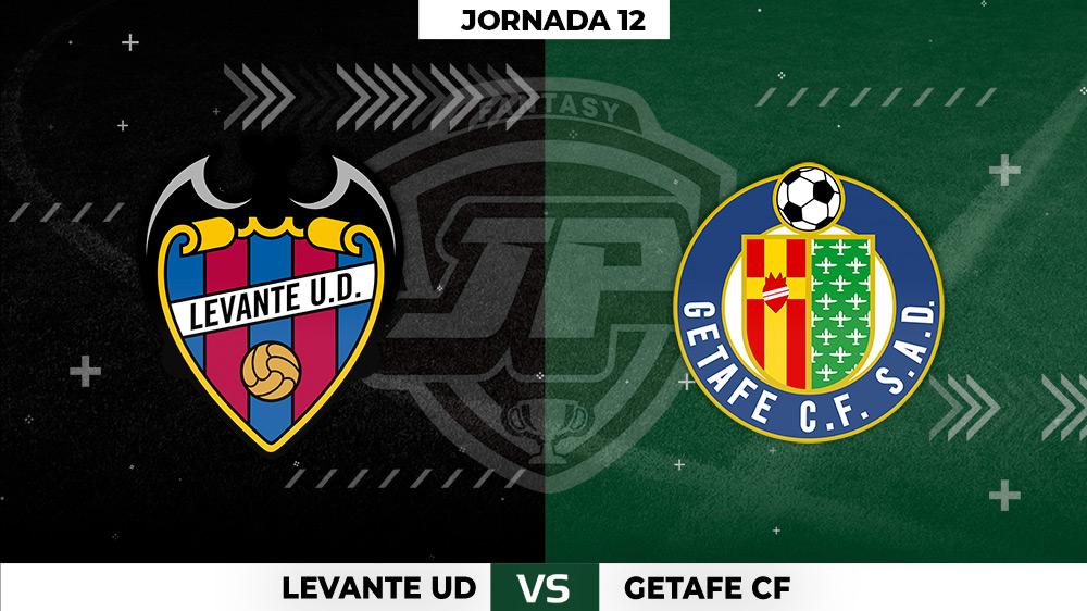 Alineaciones Levante - Real Getafe Jornada 12