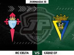 Alineaciones Celta - Cádiz Jornada 13