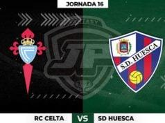 Alineaciones Celta - Huesca Jornada 16