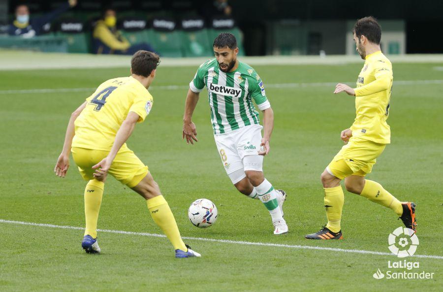 Fekir, contra el Villarreal