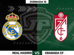 Alineaciones Real Madrid - Granada Jornada 15