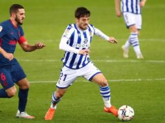 Silva en un partido ante el Atleti