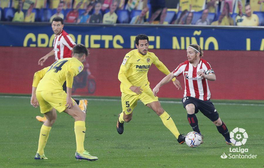 Muniain contra el Villarreal