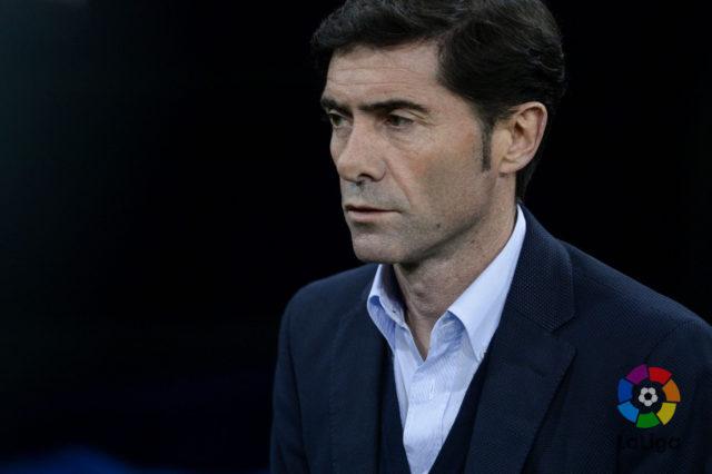Marcelino, técnico del Athletic Club