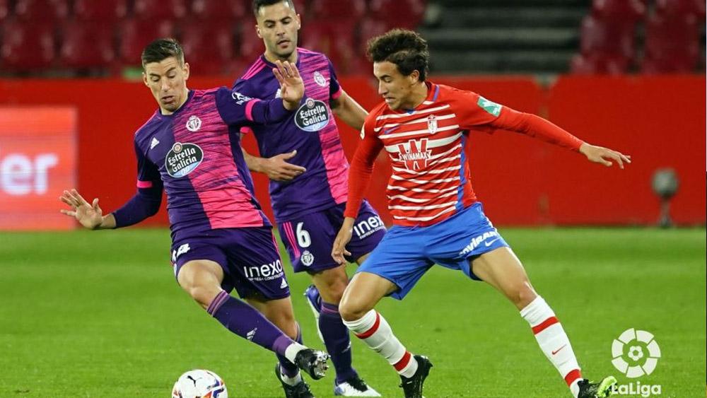 Milla en un partido ante el Valladolid
