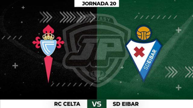 Alineaciones Celta - Eibar Jornada 20