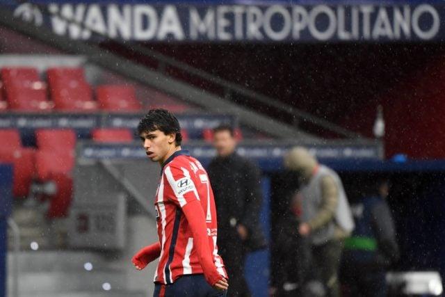 Joao Félix en el partido frente al Elche