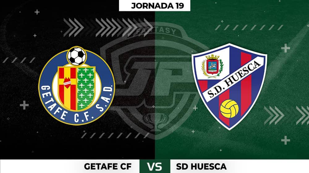Alineaciones Getafe - Huesca Jornada 19