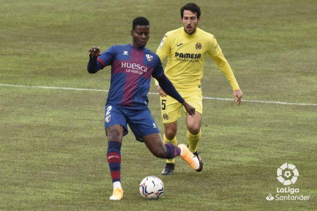 Doumbia con el Huesca