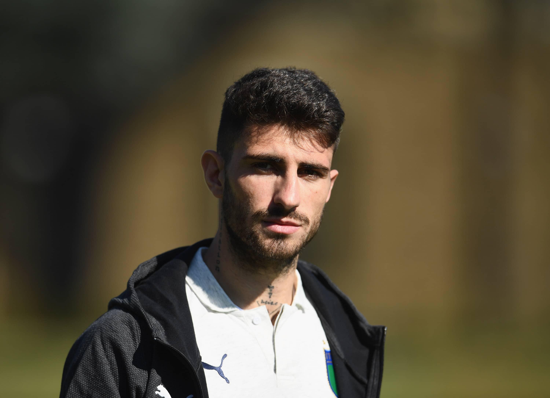 Piccini con la selección italiana