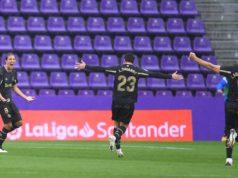 Tomás Pina celebrando un gol