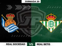 Alineaciones Real Sociedad - Betis Jornada 20