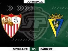 Alineaciones Sevilla - Cádiz Jornada 20