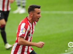 Berenguer celebra un gol
