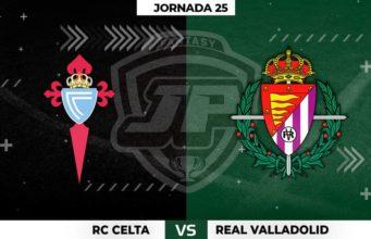 Alineaciones Celta - Valladolid Jornada 25