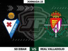 Alineaciones Eibar - Valladolid Jornada 23