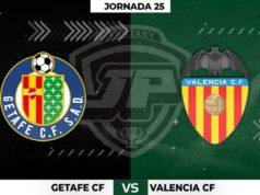 Alineaciones Getafe - Valencia Jornada 25