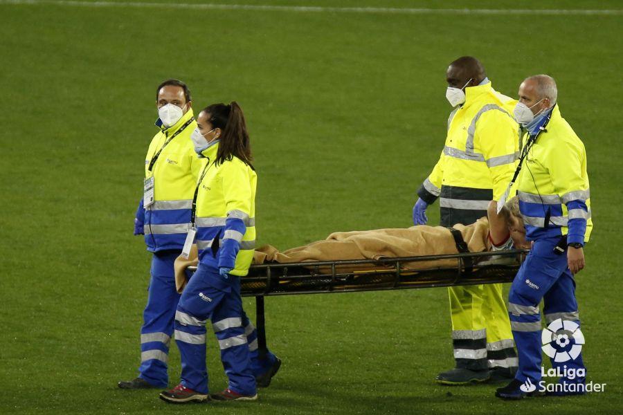Lucas Ocampos lesionado