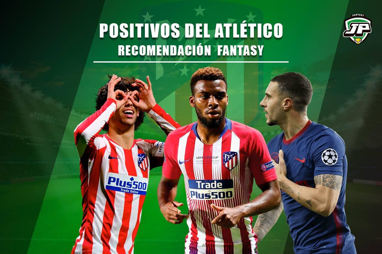Positivos Atlético de Madrid