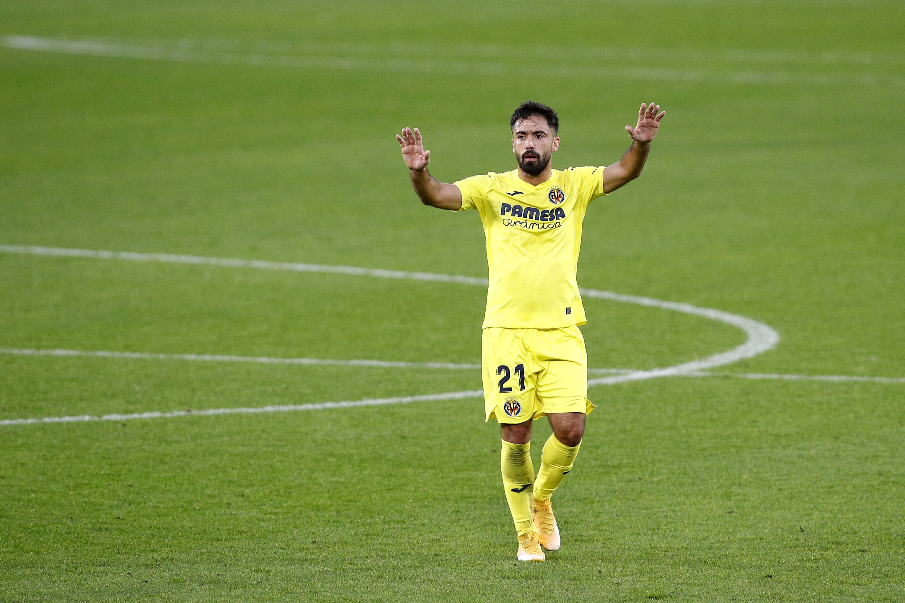Jaume Costa en un partido de LaLiga