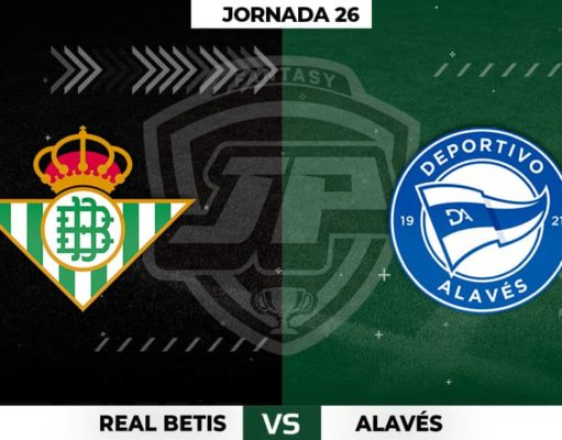 Alineaciones Betis - Alavés Jornada 26