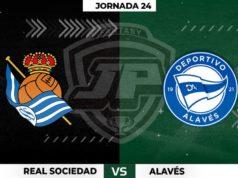 Alineaciones Real Sociedad - Alavés Jornada 24