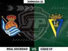 Alineaciones Real Sociedad - Cádiz Jornada 22